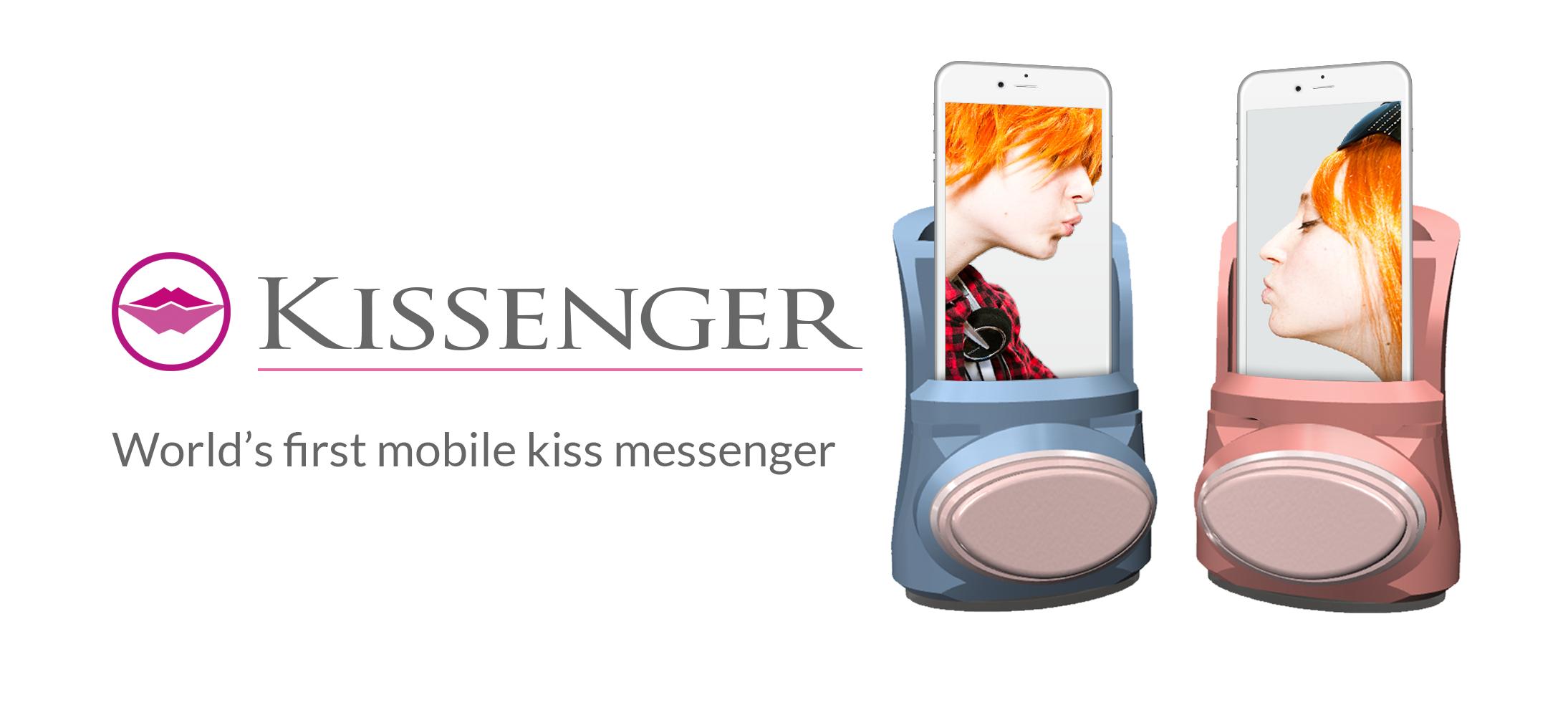 遠距離でもキスができるまさかのデバイス「Kissenger」が凄そう